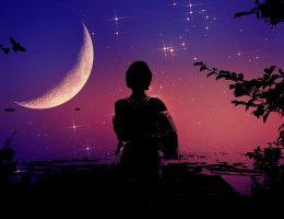 moc księżyca