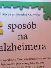 Książka - Sposób na Alzheimera