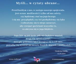 ocean mozliwości - cytat