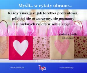 torebka prezentowa - cytat
